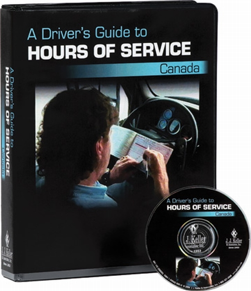 Driver s guide to hours of service canada dvd training 12035 300 dvd
