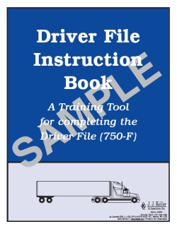 Driver File Instruction Book Services Edition 750-F-I