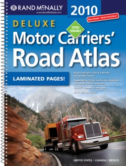 2010 rand mcnally deluxe motor carriers 39 road atlas 409 rd