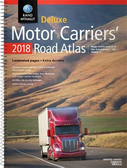 2015 Rand McNally Deluxe Motor Carriers′ Road Atlas