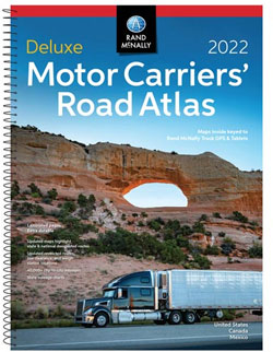 2020 Rand McNally Deluxe Motor Carriers′ Road Atlas