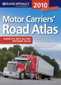 Rand McNally Motor Carriers' Road Atlas 2010 Edition 57-RD-0