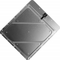 Riveted Aluminum Placard Holder With Back Plate Unpainted Aluminum 80/001-TPH
