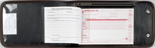 Vinyl Snap Shut Log Book Cover For Your Driver S Log Books Driver