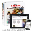 5-Minute Workplace Safety Talks Manual + Online Edition w/ 1-Year Update Service - 36518