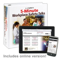 J. J. Keller's 5-Minute Workplace Safety Talks 82-M