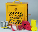 Industrial Lockout / Tagout Station - 14037 / 628-RL