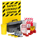 Lockout / Tagout Wall-Mount Station with Removable Kit - 10204 / 625-RL
