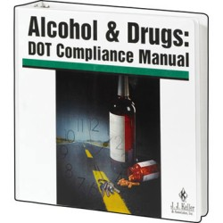 Alcohol & Drugs: DOT Compliance Manual 135-M, Perfect Bound, Spiral Bound