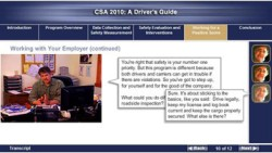 CSA 2010: A Driver's Guide - CD-ROM Training 115-CMM-P