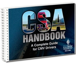 CSA Handbook - A Complete Guide for CMV Drivers 492-H