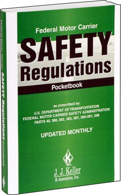 Federal Motor Carrier Safety Regulations Handbook or Pocketbook, Perfect Bound, Spiral Bound