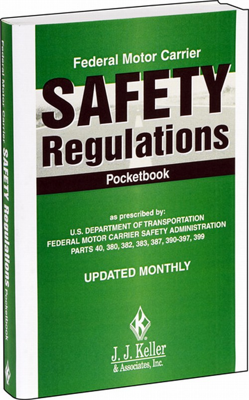 Federal Motor Carrier Safety Regulations Handbook Or Pocketbook Perfect Bound Spiral Bound
