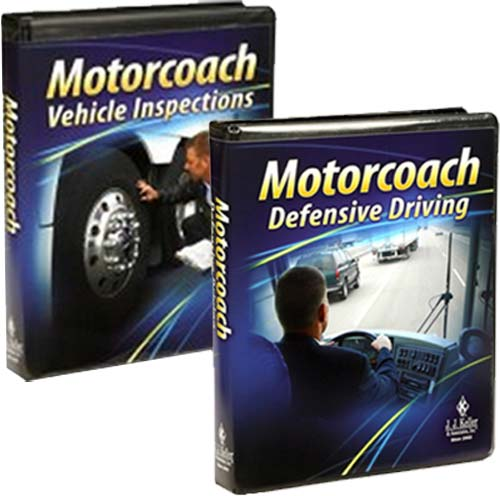 Motorcoach driver training 2 pack dvd training for Motor coach driving jobs