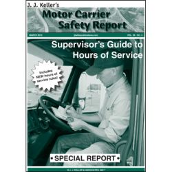 Special Report: Supervisor's Guide to Hours of Service 009-GMR-U2