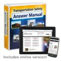 Transportation Safety Answer Manual + Online Edition w/ 1-Year Update Service - 36498