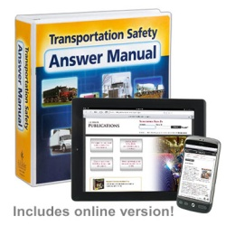 Transportation Safety Answer Manual + Online Edition w/ 1