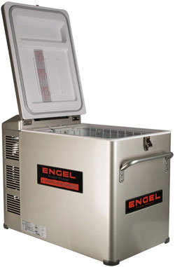 Engel MT35 Medium Size 34 Quarts 12-Volt Refrigerator Freezer w/ Digital Control Temperature. - MT35F-PLAT