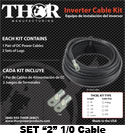 Thor 1/0 Cable Kit (Set of 2)