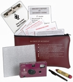 Vehicle Accident Report Kit With Camera In Pouch - English 675-R